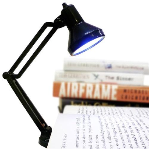 Tiny Tim Book Light – Black