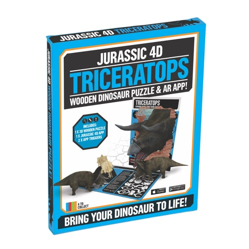 4D Triceratops Rex Puzzle