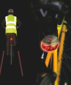 Bike Tramline Laser Safety Light