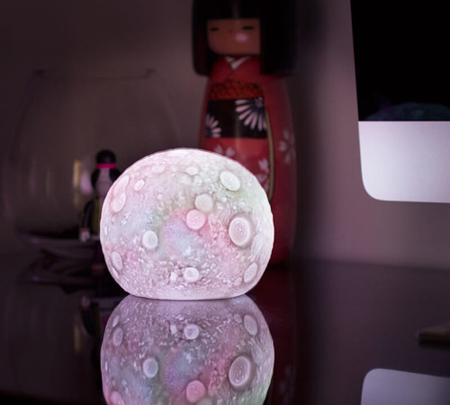 Colour Changing LED Moon Lamp