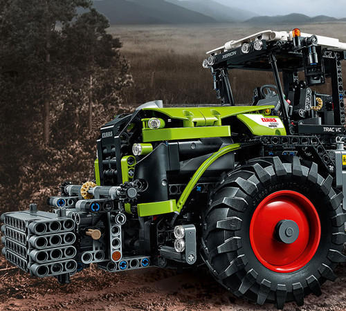 Lego Claas Xerion 5000 TRAC VC Tractor