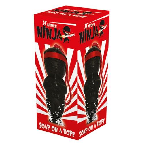 Ninja Soap on a Rope