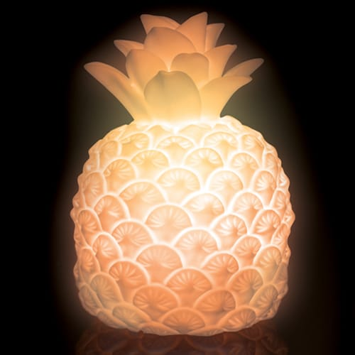 Pineapple mood light yuppie gadgets for Mood light designs