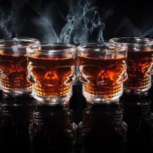 Skull Shot Glass Set