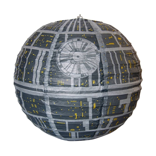star wars death star lamp shade yuppie gadgets. Black Bedroom Furniture Sets. Home Design Ideas