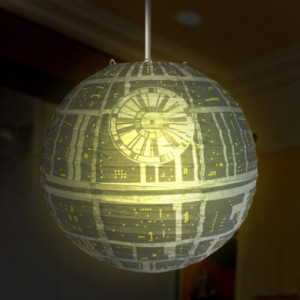 Star Wars Death Star Lamp Shade
