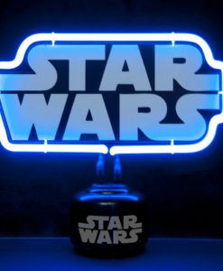 Star Wars Logo Neon Light