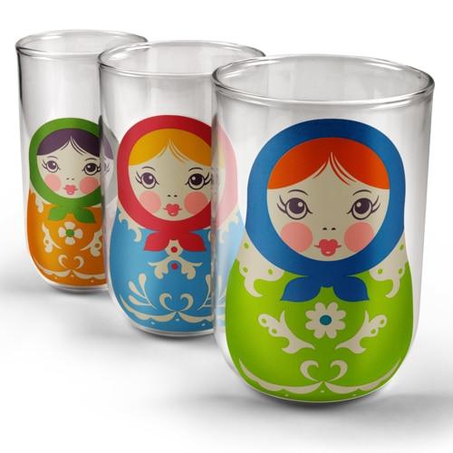 Babushkups Nesting Glasses Set