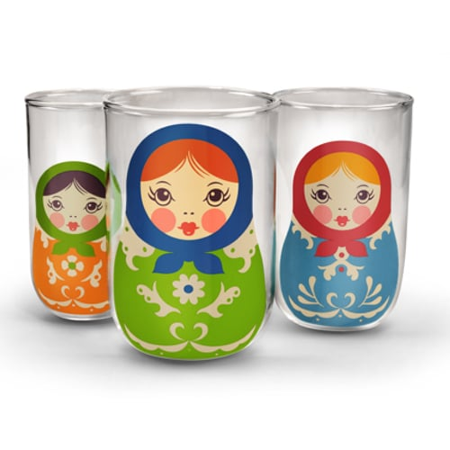 Babushkups Nesting Glasses Set