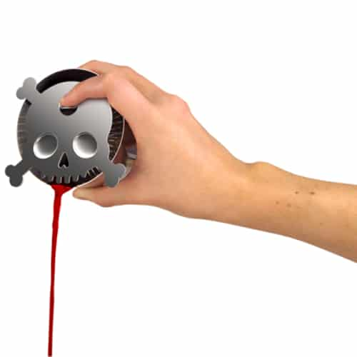 Bar Bones Skull Cocktail Strainer
