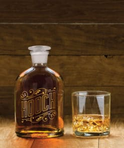 Bottled Up Hooch Decanter