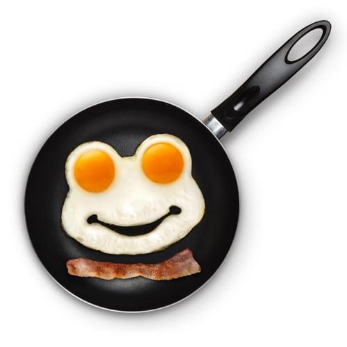 Funny Side Up Frog Egg Shaper