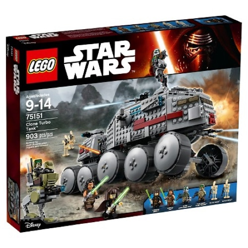 Lego Star Wars Clone Turbo Tank (75151)