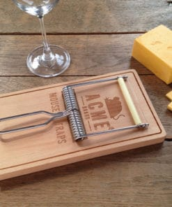 Oh Snap! Mousetrap Cheese Board