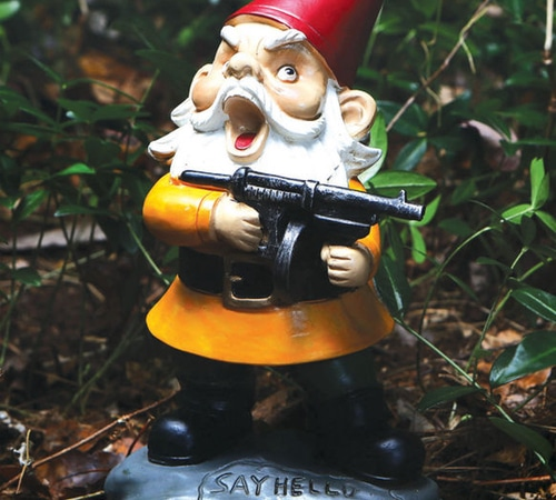 Angry Little Garden Gnome