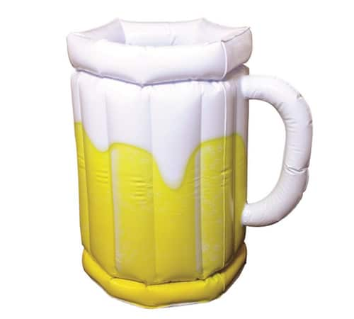 Beer O'Clock Inflatable Beer Cooler