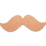 Moustache Cork Board