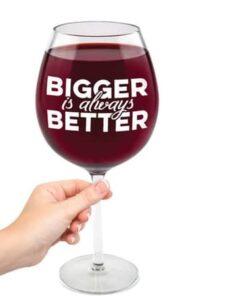 Giant Wine Glass 750ml - Bigger is Always Better
