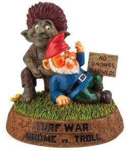 Gnome vs Troll Garden Gnome