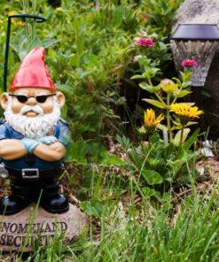 Gnomeland Security Garden Gnome