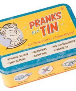 Pranks in a Tin