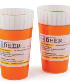 Prescription Pint Glass Set