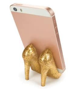Pumped Up Glitter Phone Stand