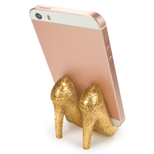 Pumped Up Glitter Phone Stand