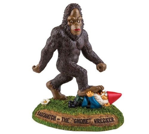 Sasquatch the Gnome Wrecker Garden Gnome