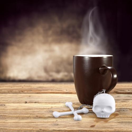 Tea Bones Skull Tea Infuser