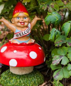 Welcome Home Garden Gnome