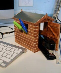 Desk Shed Stationery Organiser