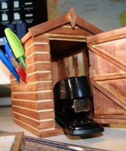 Desk Shed Stationery Organiser