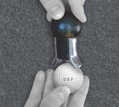 Golf Ball Monogram Stamper
