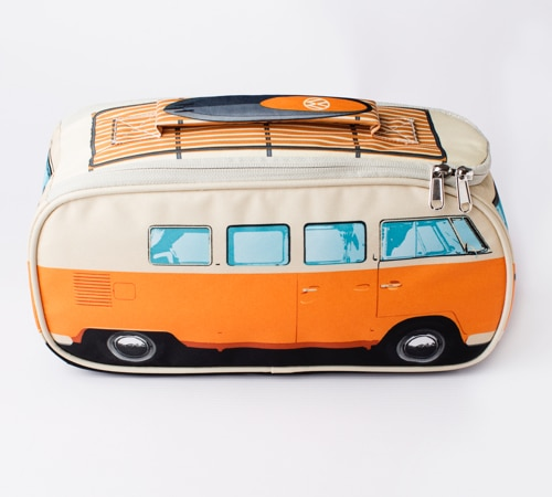 VW Camper Van Lunch Bag - Orange