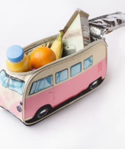 VW Camper Van Lunch Bag - Pink