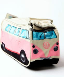 VW Camper Van Toiletry Bag - Pink