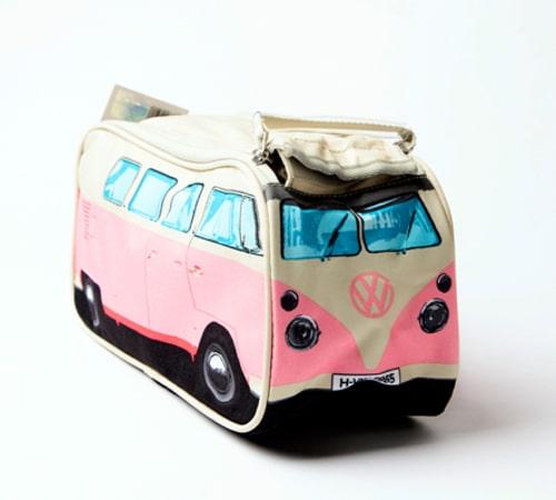 VW Camper Van Toiletry Bag – Pink