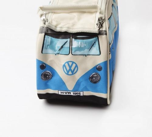 VW Camper Van Toiletry Bag - Blue