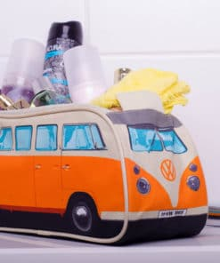 VW Camper Van Toiletry Bag - Orange