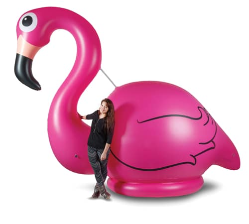 10 Foot Gigantic Pink Flamingo
