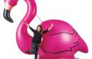 10 Foot Gigantic Pink Flamingo
