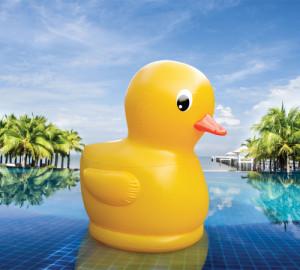 Gigantic 7 Foot Rubber Ducky