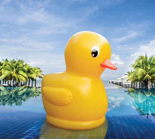 Gigantic 7 Foot Rubber Ducky