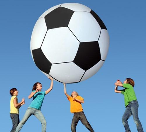 Gigantic 6 Foot Soccer Ball