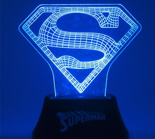 Superman Acrylic Light