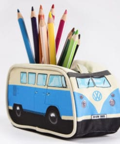 VW Camper Van Pencil Case - Blue