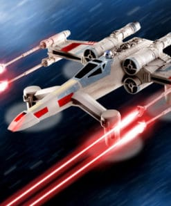 Star Wars Battle Drone T-65 X-Wing Starfighter - Collectors Deluxe Edition