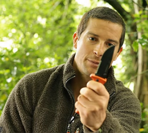 Bear Grylls Folding Sheath Knife