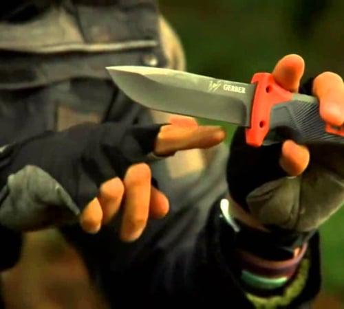 Bear Grylls Ultimate Fine Edge Knife - Fixed Blade Knife
